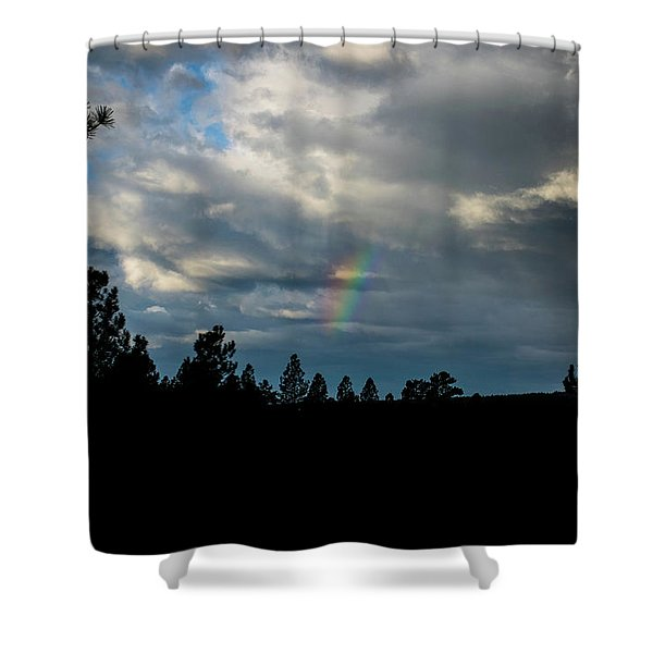 Fortunate Glimpses Shower Curtain