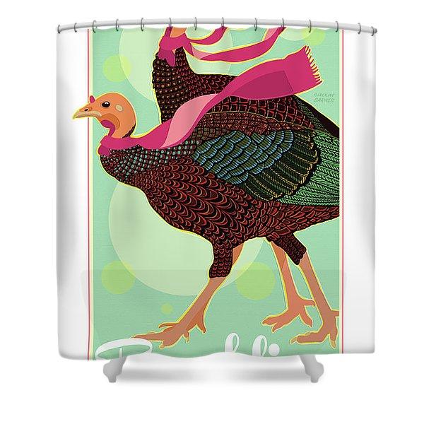 Foulards Shower Curtain
