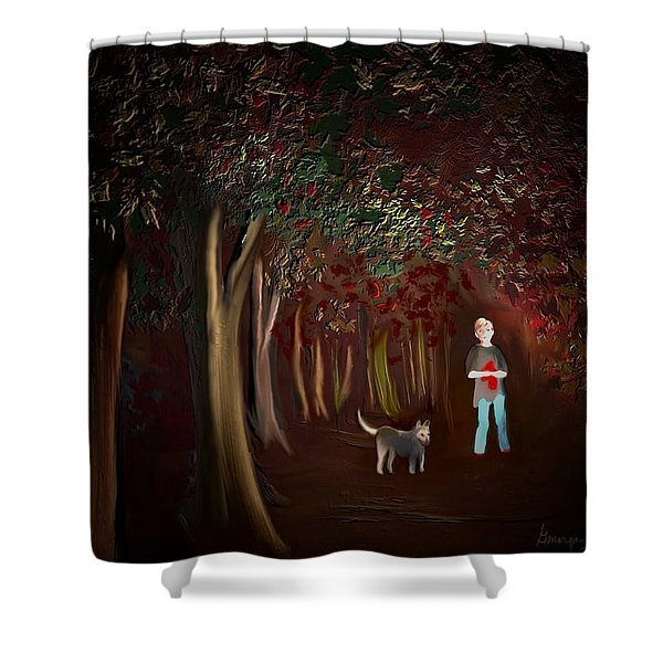 Found II Shower Curtain