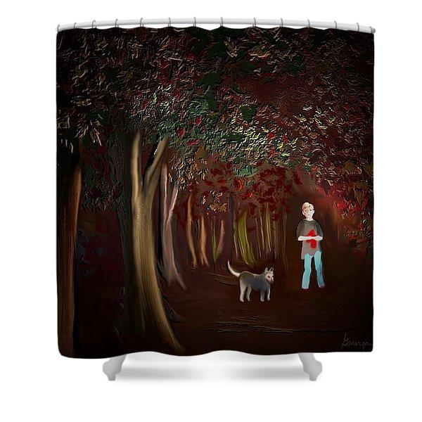 Found II Shower Curtain