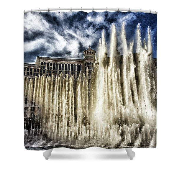 Fountain Of Love Shower Curtain