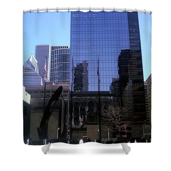 Fountain View Shower Curtain