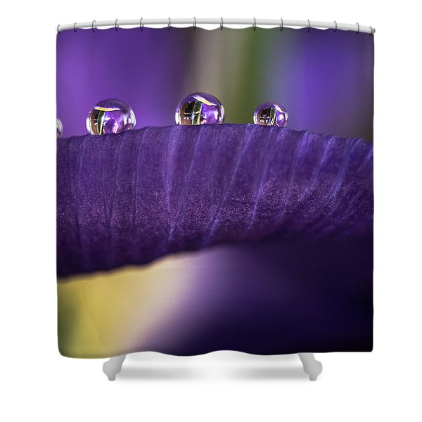 Four Drops Shower Curtain