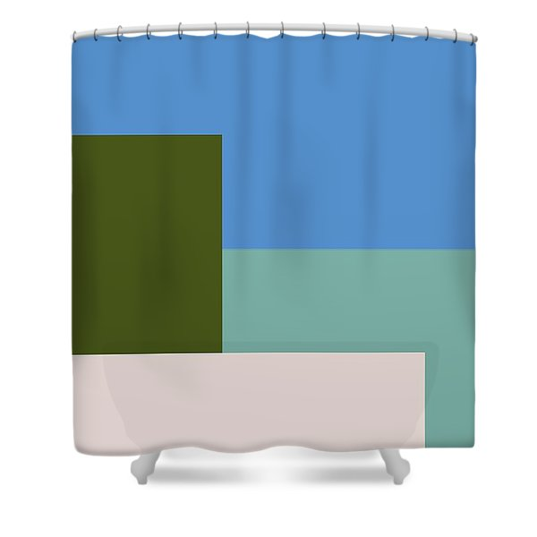 Four Elements Shower Curtain