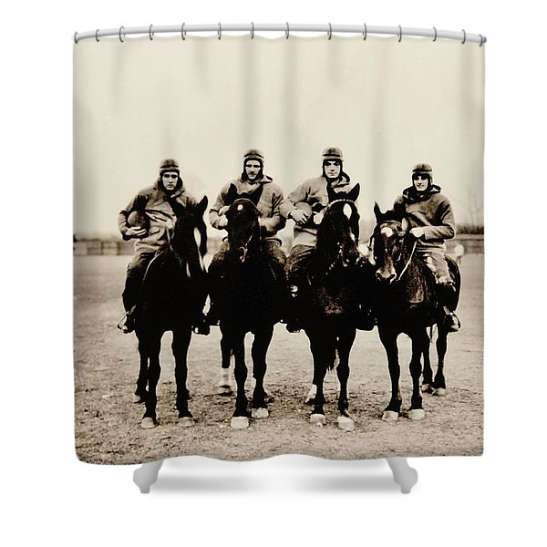 Four Horsemen Shower Curtain