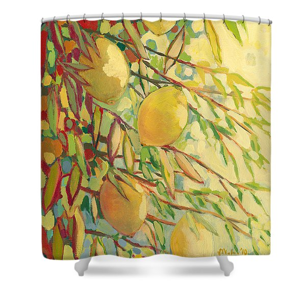 Four Lemons Shower Curtain