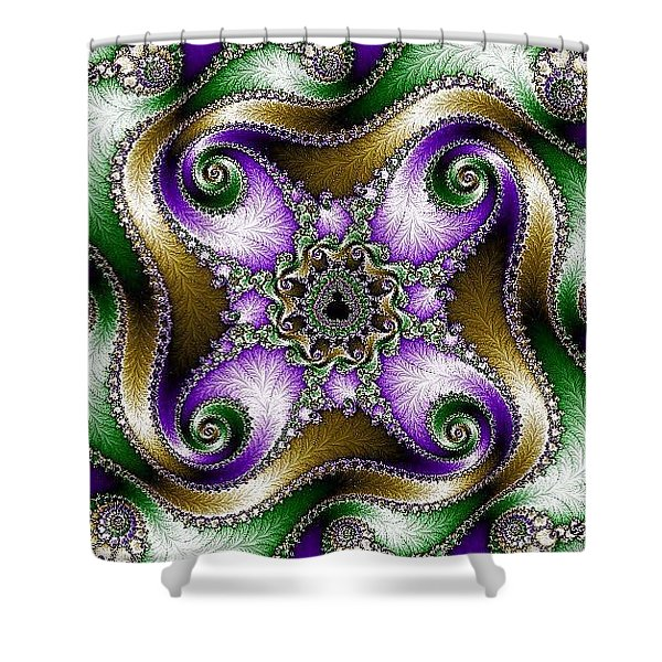 Four Sacred Directions Shower Curtain