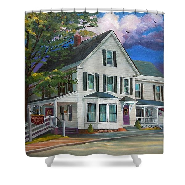 Fournier Funeral Home Shower Curtain