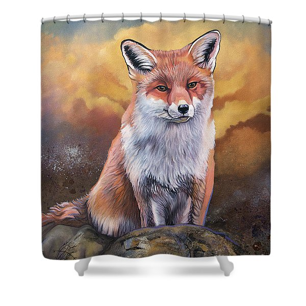 Fox Knows Shower Curtain