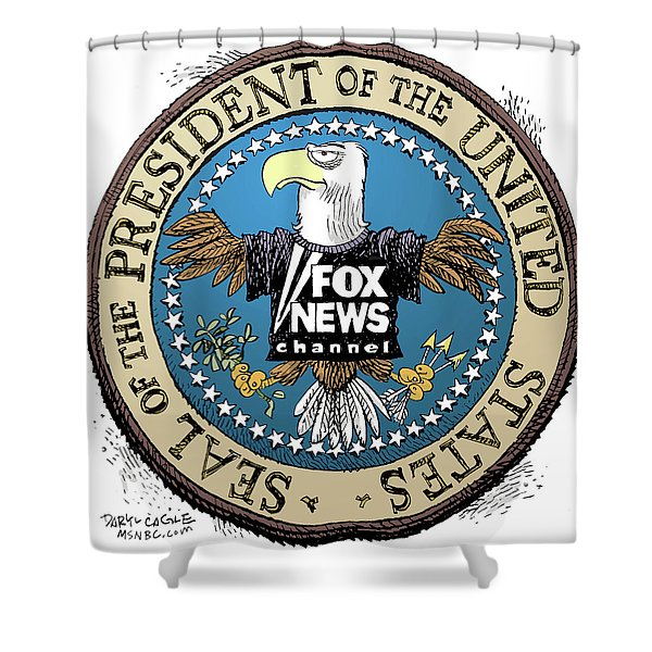 Fox News Presidential Seal Shower Curtain