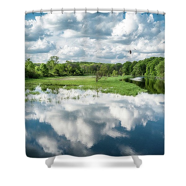 Fox River Shower Curtain