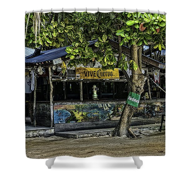 Foxy's On Jost Van Dyke Shower Curtain