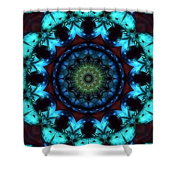 Fractal 2 Shower Curtain