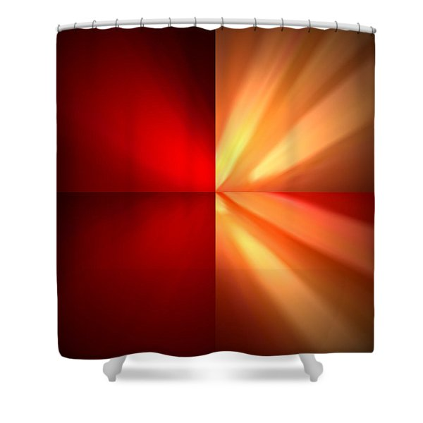 Fractal 6 Shower Curtain