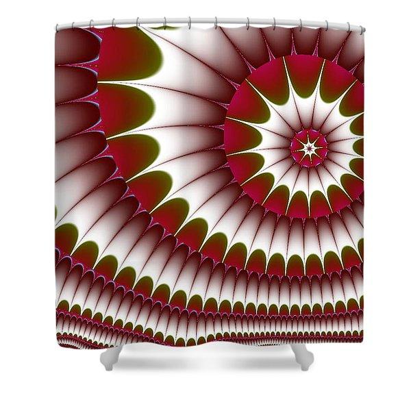 Fractal 634 Shower Curtain