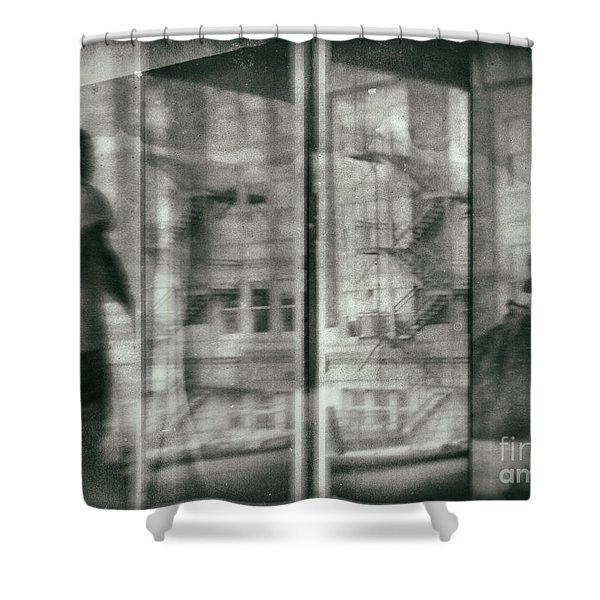 Fragment 7 The Traveler Shower Curtain