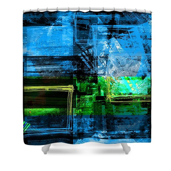 Framing Thoughts Shower Curtain