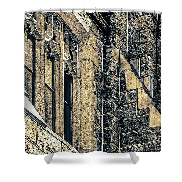 Franco Center Lewiston Maine Shower Curtain