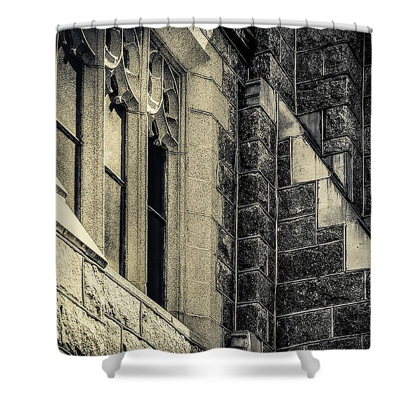 Franco Center Lewiston Maine II Shower Curtain