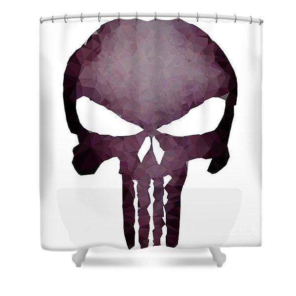 Frank Skull Shower Curtain