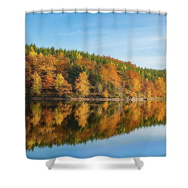 Frankenteich, Harz Shower Curtain