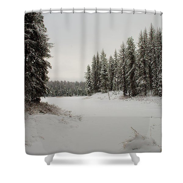 Frater Lake Shower Curtain