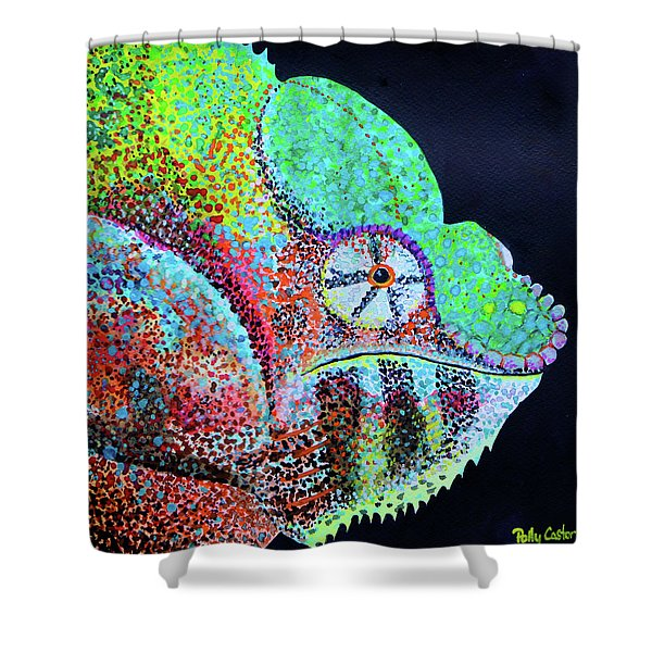 Freckle Face Shower Curtain
