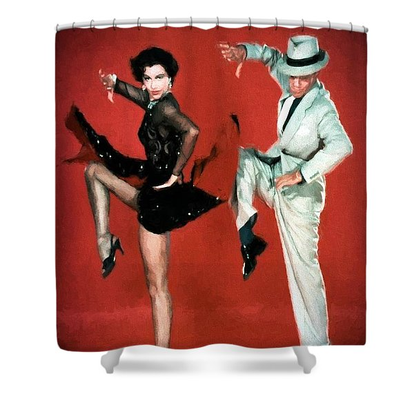 Fred And Cyd Shower Curtain