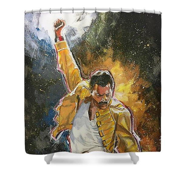 Freddie Shower Curtain