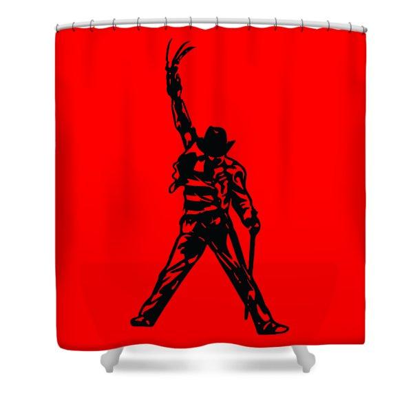 Freddy Krueger Shower Curtain