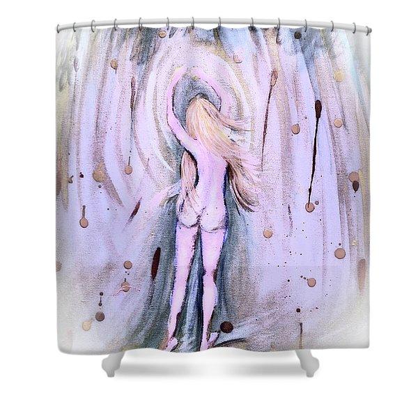 Free Girl Shower Curtain