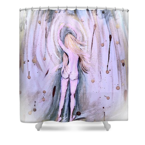 Free Girl Shower Curtain