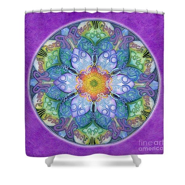 Freedom Mandala Shower Curtain