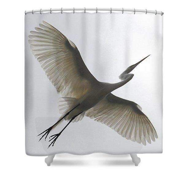 Freedom Of Flight Shower Curtain