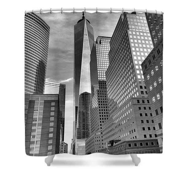 Freedom Tower Shower Curtain