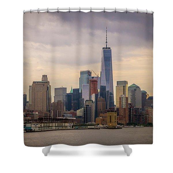 Freedom Tower - Lower Manhattan 2 Shower Curtain