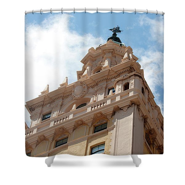Freedom Tower - Miami Shower Curtain