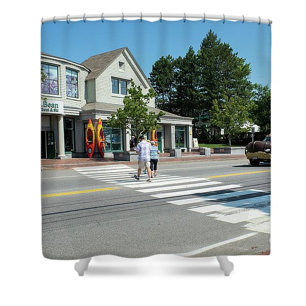 Freeport, Maine #130398 Shower Curtain