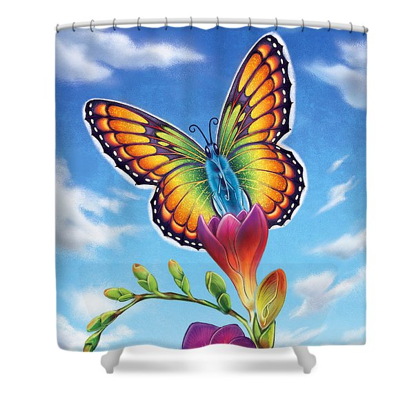 Freesia - Necessary Change Shower Curtain