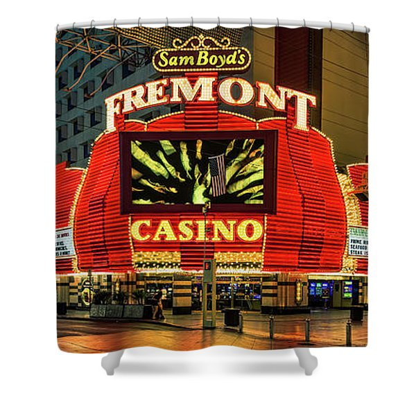 Fremont Casino Entrance Shower Curtain