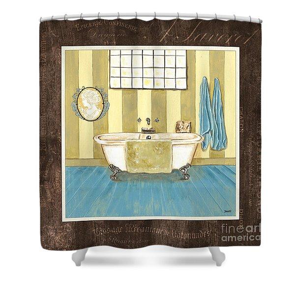 French Bath 2 Shower Curtain