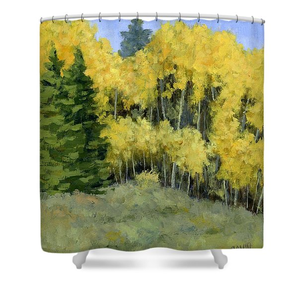 Fresh Autumn Air Shower Curtain