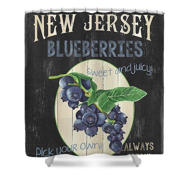 Fresh Berries 1 Shower Curtain