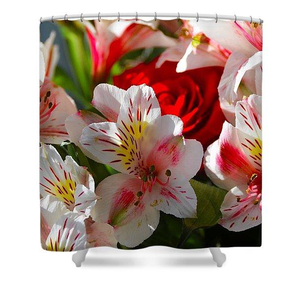 Fresh Flowers Shower Curtain