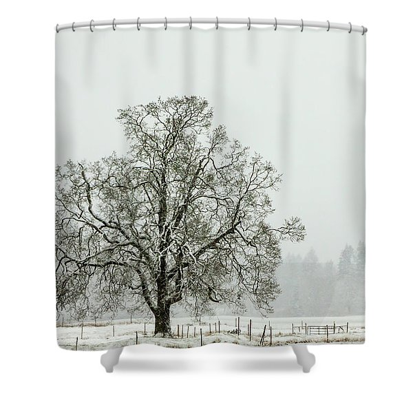 Fresh Snow Shower Curtain