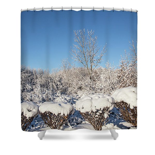 Fresh Snowfall Shower Curtain