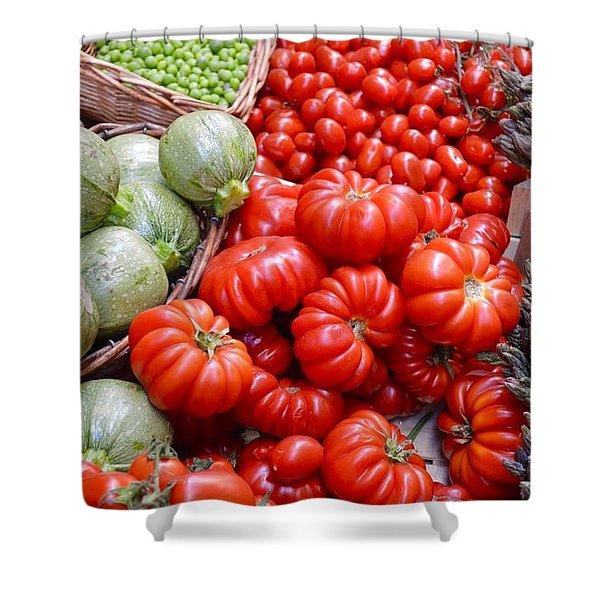 Fresh Vegetables Shower Curtain