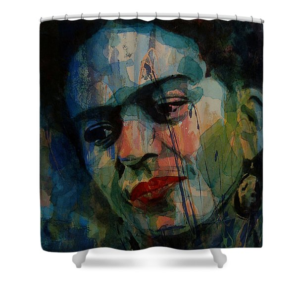Frida Kahlo Colourful Icon  Shower Curtain