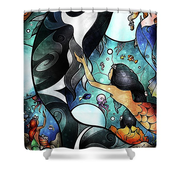 Friend Of The Maidens Shower Curtain