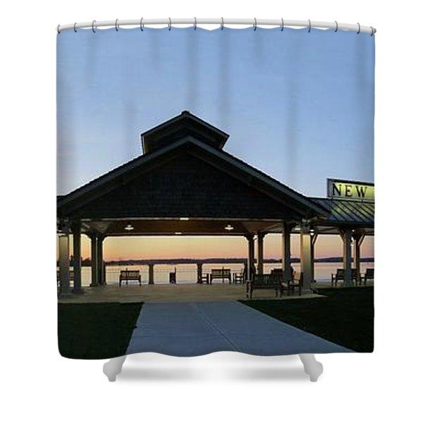 Frink Park Clayton Shower Curtain